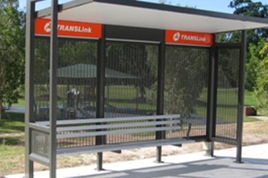 translink bus shelter